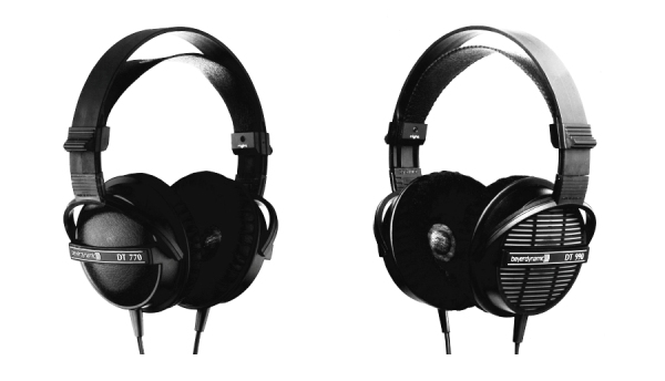 1985 HIS DT770 DT990 headphones